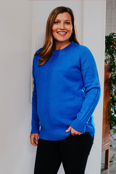 Lauren Knit - Royal Blue