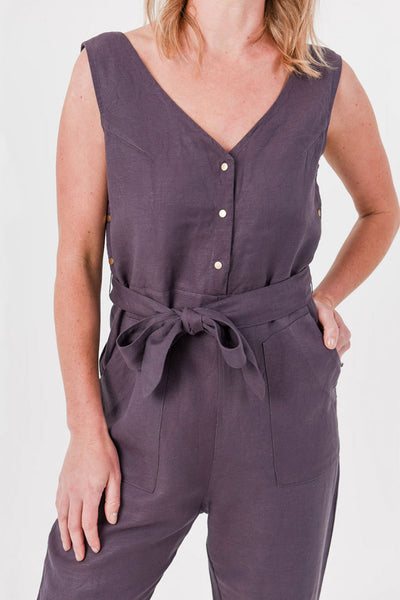 Riley Linen Jumpsuit