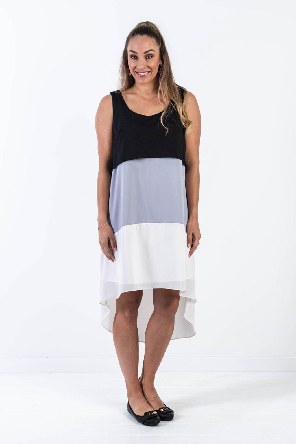 Super Sundae Dress - Grey