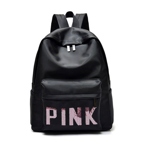 Lovely Letters Decorated Large Capacity Schoolbag Backpack - Siscloset
