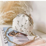 Fresh Flower Clip Bag with Chain - Siscloset