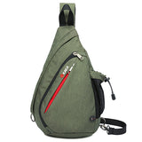 Multi-functional Canvas Chest Pack - Siscloset