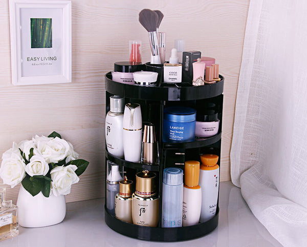 Makeup Storage Box (360 Degree Rotary) - Siscloset