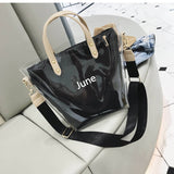 June PVC Handbag - Siscloset