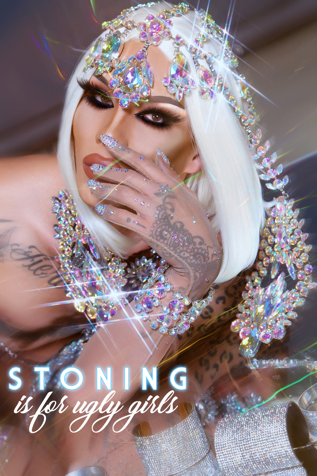 Autographed Print - Stoning Is For Ugly Girls