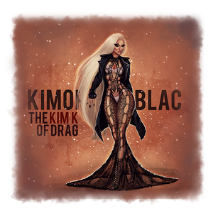 "The ""KIM K"" of Drag Tee"
