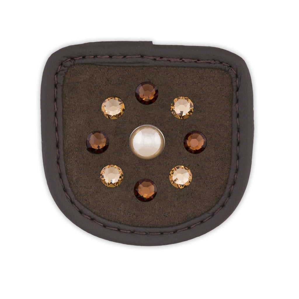 Brown Pearl Patch braun