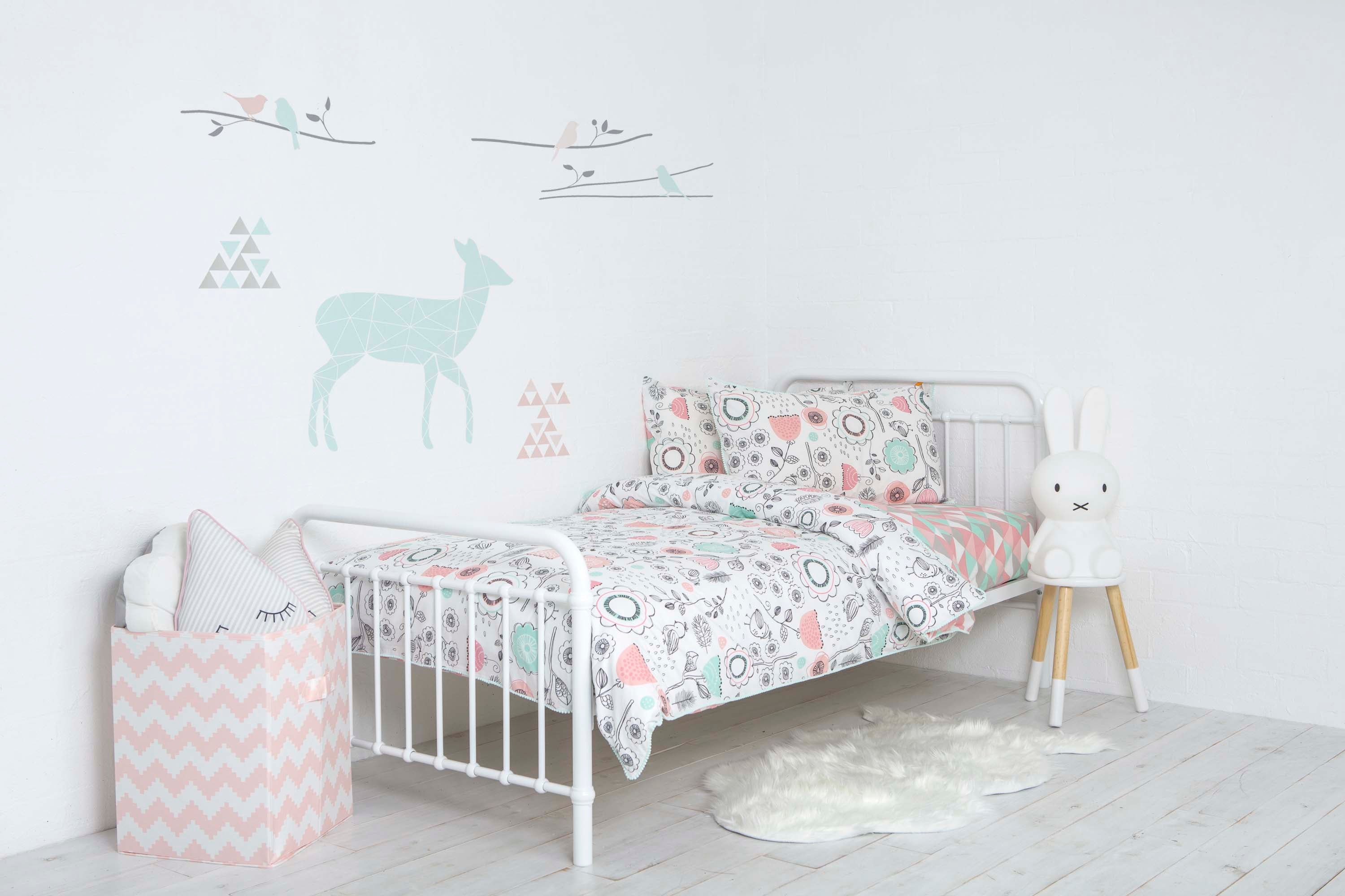 2 Piece Single Bed Fitted Sheet   Sparrow