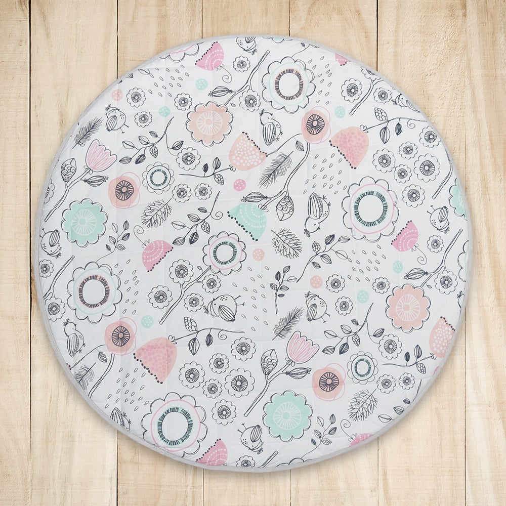 Round Play Mat Sparrow Lolli Living