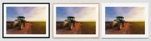 Farm Vehicles Framed Prints