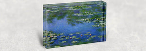 Claude Monet Acrylic Block