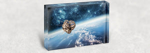 Space Acrylic Block