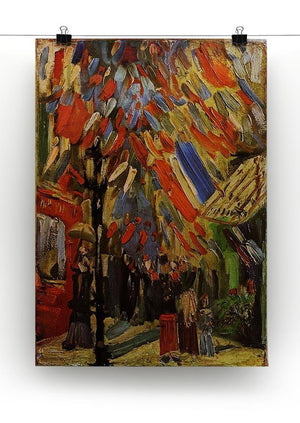 14 July in Paris by Van Gogh Canvas Print & Poster - Canvas Art Rocks - 2
