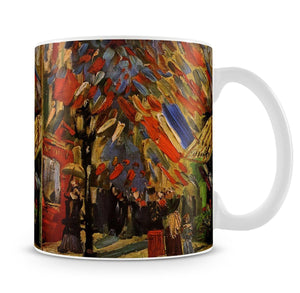 14 July in Paris by Van Gogh Mug - Canvas Art Rocks - 4