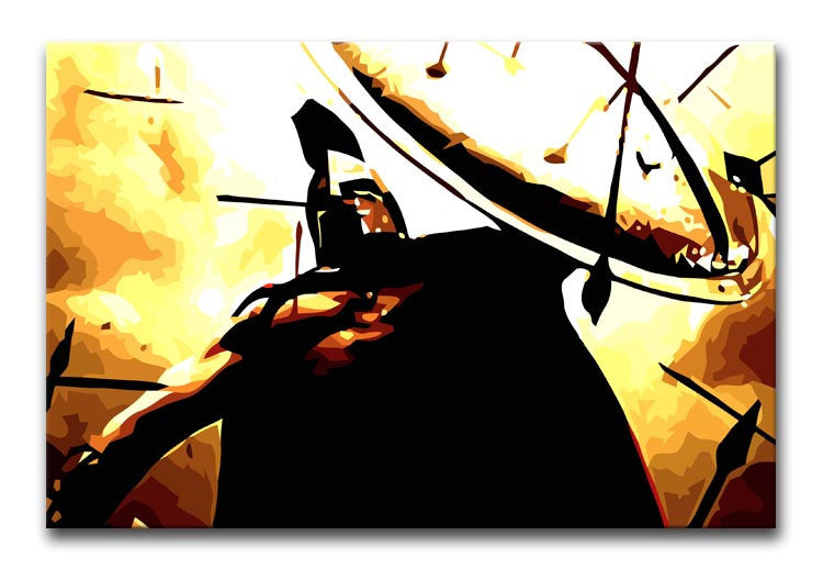 300 Movie Shield Print - Canvas Art Rocks - 1