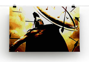 300 Movie Shield Print - Canvas Art Rocks - 3