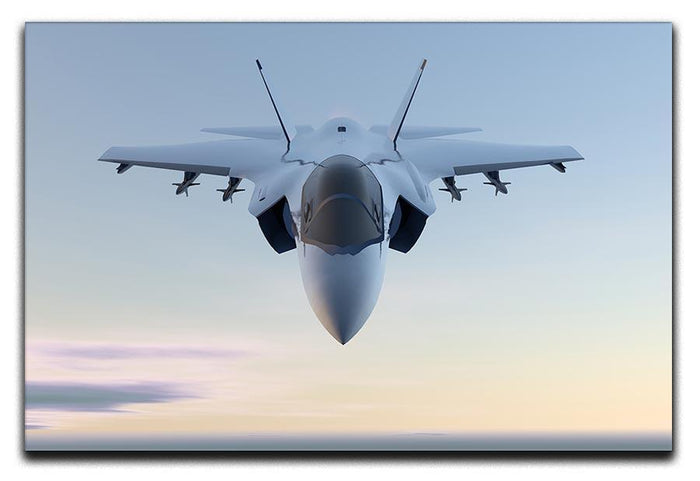 3D Jet F-35 fighter Canvas Print or Poster