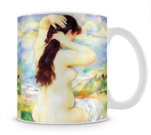 A Bather by Renoir Mug - Canvas Art Rocks - 1