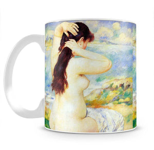 A Bather by Renoir Mug - Canvas Art Rocks - 2