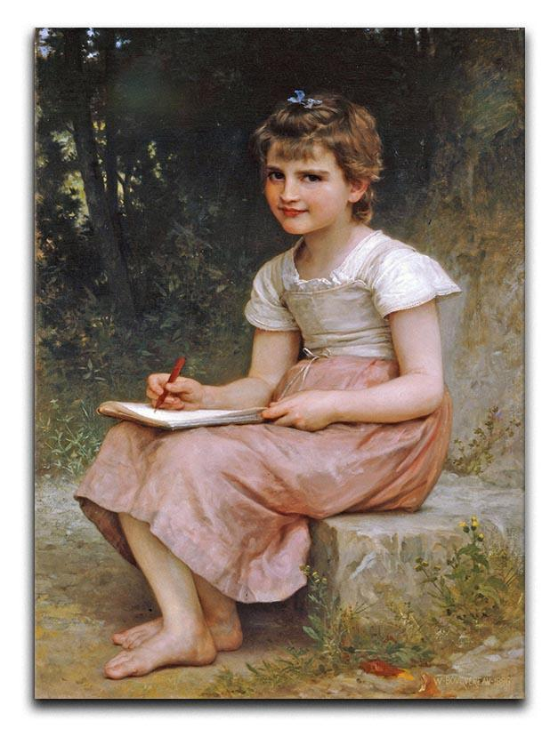 A Calling 1896 By Bouguereau Canvas Print or Poster  - Canvas Art Rocks - 1