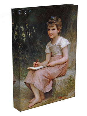 A Calling 1896 By Bouguereau Canvas Print or Poster - Canvas Art Rocks - 3