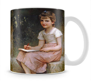 A Calling 1896 By Bouguereau Mug - Canvas Art Rocks - 1