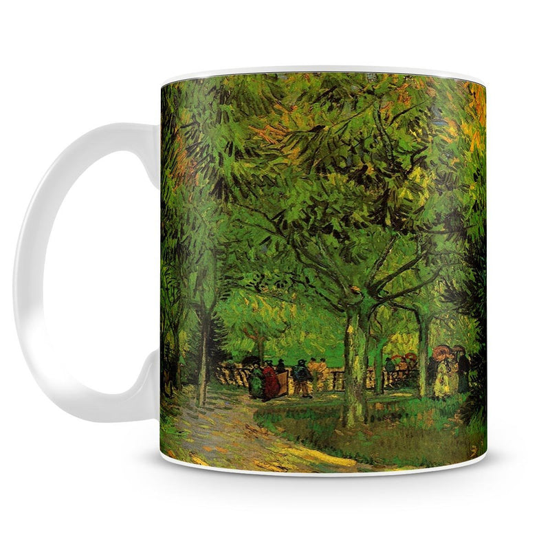 A Lane in the Public Garden at Arles by Van Gogh Cup - Canvas Art Rocks - 4