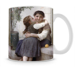 A Little Coaxing 1890 By Bouguereau Mug - Canvas Art Rocks - 1