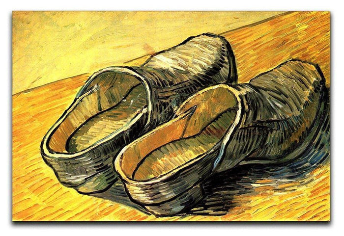 A Pair of Leather Clogs by Van Gogh Canvas Print or Poster