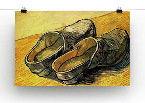 A Pair of Leather Clogs by Van Gogh Canvas Print & Poster - Canvas Art Rocks - 2