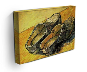 A Pair of Leather Clogs by Van Gogh Canvas Print & Poster - Canvas Art Rocks - 3