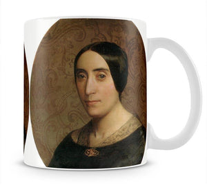 A Portrait of Amelina Dufaud Bouguereau 1850 By Bouguereau Mug - Canvas Art Rocks - 1