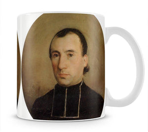 A Portrait of Eugene Bouguereau 1850 By Bouguereau Mug - Canvas Art Rocks - 1
