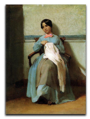 A Portrait of Lonie Bouguereau By Bouguereau Canvas Print or Poster  - Canvas Art Rocks - 1