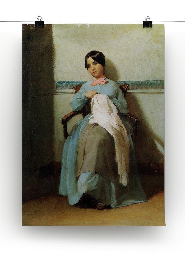A Portrait of Lonie Bouguereau By Bouguereau Canvas Print or Poster - Canvas Art Rocks - 2