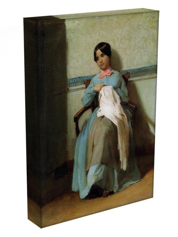 A Portrait of Lonie Bouguereau By Bouguereau Canvas Print or Poster - Canvas Art Rocks - 3
