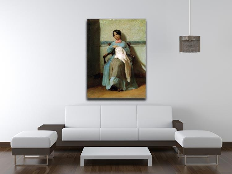 A Portrait of Lonie Bouguereau By Bouguereau Canvas Print or Poster - Canvas Art Rocks - 4