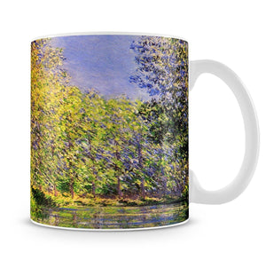 A bend of the Epte Giverny by Monet Mug - Canvas Art Rocks - 4