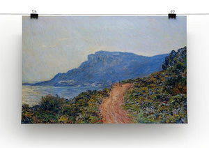 A coastal view with a bay by Monet Canvas Print & Poster - Canvas Art Rocks - 2