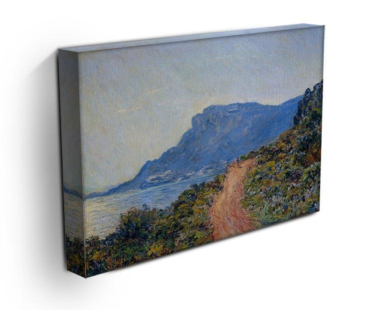 A coastal view with a bay by Monet Canvas Print & Poster - Canvas Art Rocks - 3
