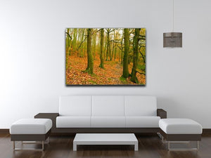 A path through the woods at Haw park Canvas Print or Poster - Canvas Art Rocks - 4