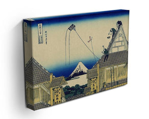 A sketch of the Mitsui shop by Hokusai Canvas Print or Poster - Canvas Art Rocks - 3