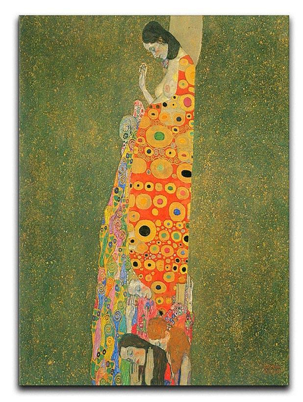 Abandoned Hope by Klimt Canvas Print or Poster  - Canvas Art Rocks - 1