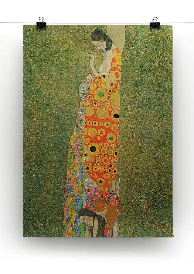 Abandoned Hope by Klimt Canvas Print or Poster - Canvas Art Rocks - 2