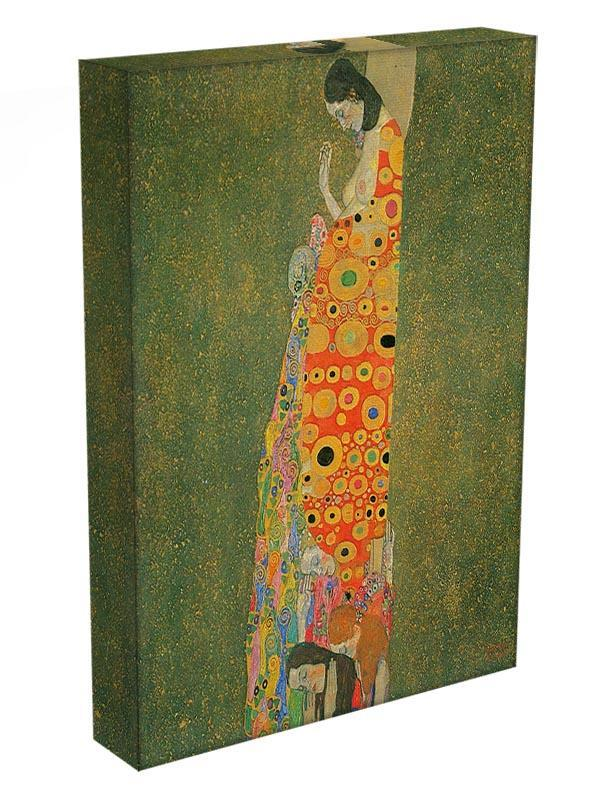 Abandoned Hope by Klimt Canvas Print or Poster - Canvas Art Rocks - 3