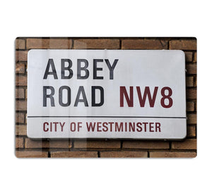 Abbey Road Street Sign HD Metal Print