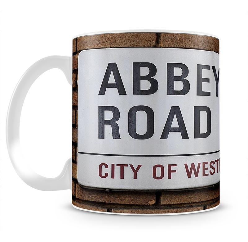 Abbey Road Street Sign Cup - Canvas Art Rocks - 2