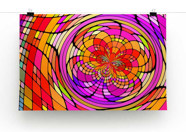 Stained Glass Artwork Print - Canvas Art Rocks - 2