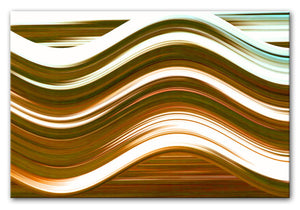 Abstract Wave Print - Canvas Art Rocks - 4