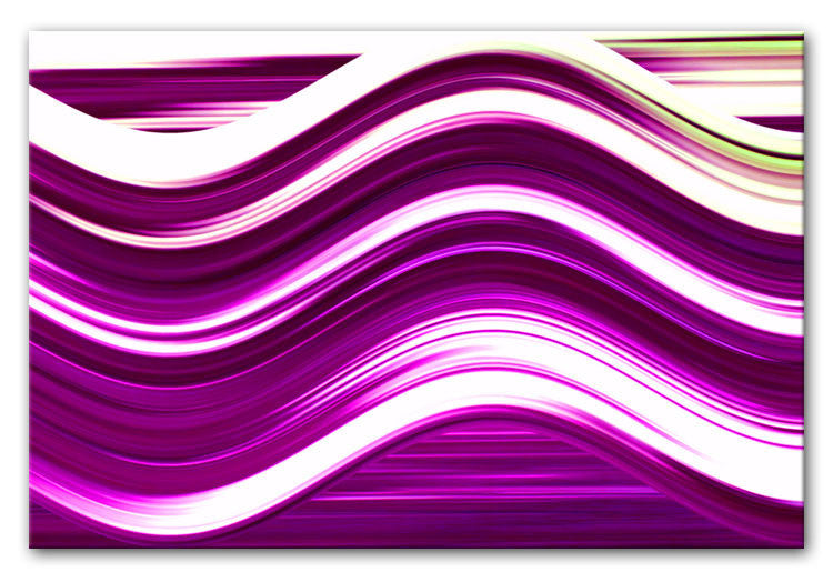 Abstract Wave Print - Canvas Art Rocks - 5
